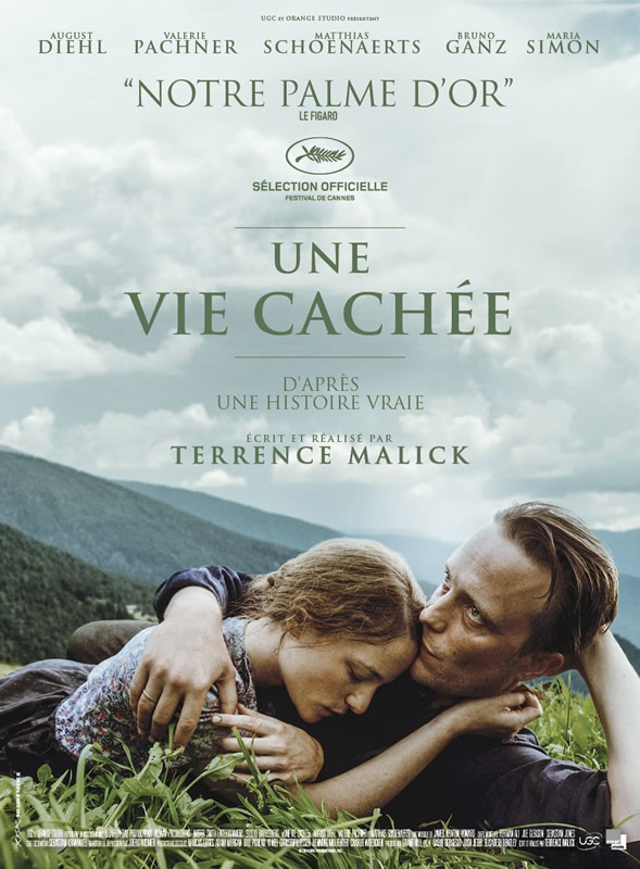 affiche UNE VIE CACHÉE Terrence Malick