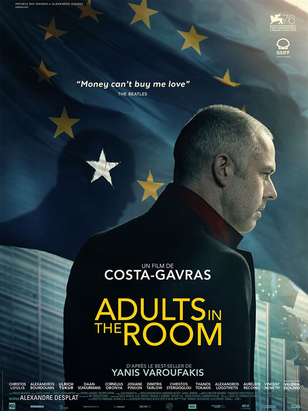 affiche ADULTS IN THE ROOM Costa Gavras