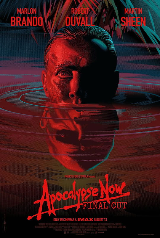 affiche APOCALYPSE NOW FINAL CUT Francis Ford Coppola