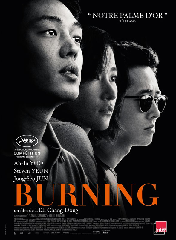 affiche BURNING Lee Chang-Dong