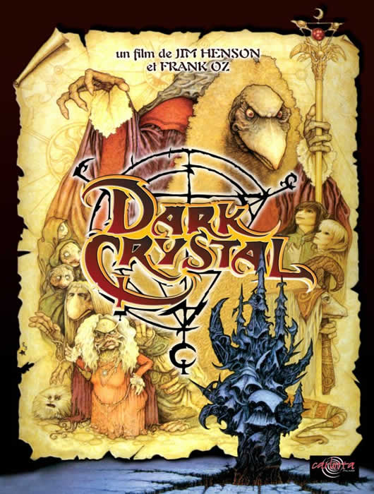 affiche DARK CRYSTAL Jim Henson & Frank Oz