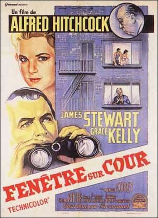 Affiches de films lettre f cin mas les 400 coups for Fenetre sur cour film