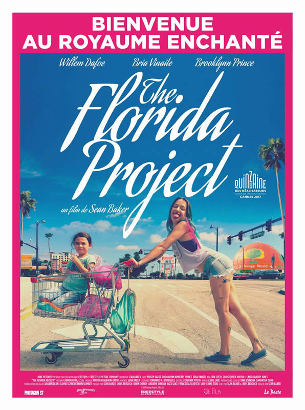 affiche THE FLORIDA PROJECT Sean Baker