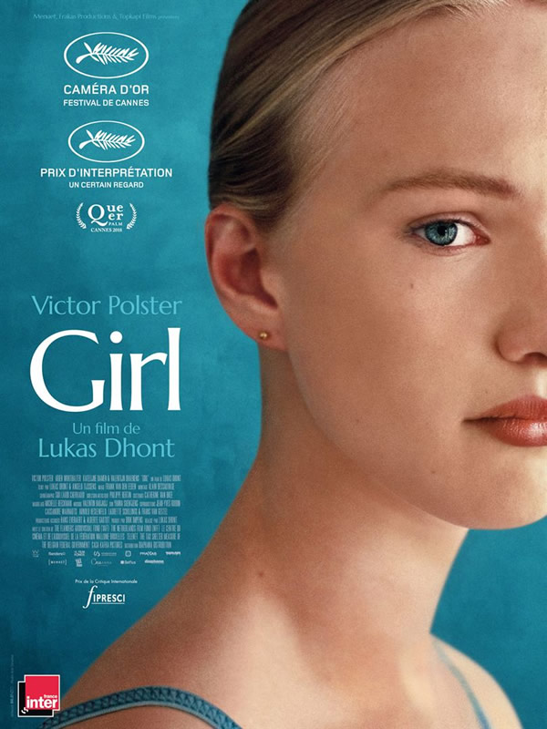 affiche GIRL Lukas Dhont