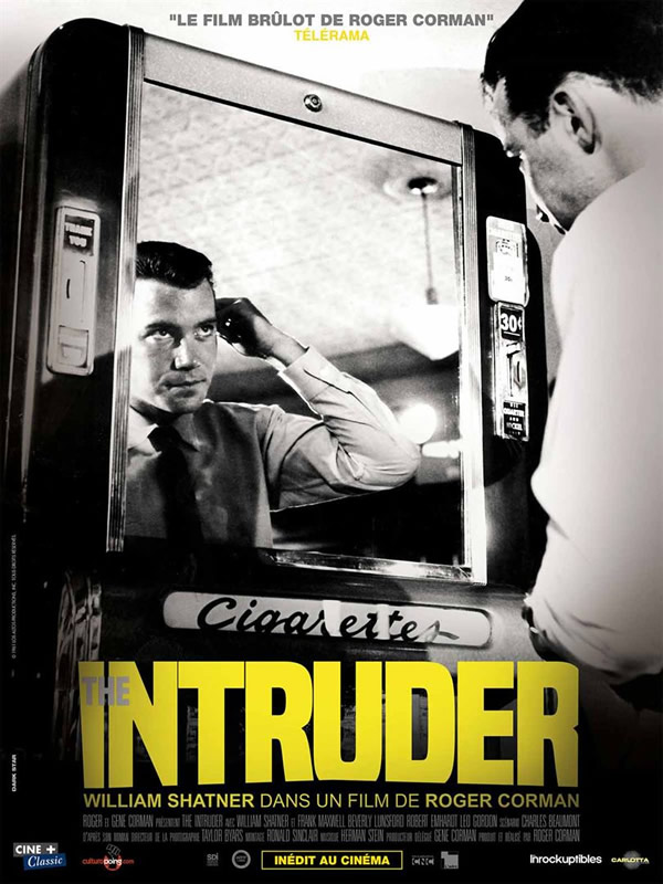 affiche THE INTRUDER Roger Corman