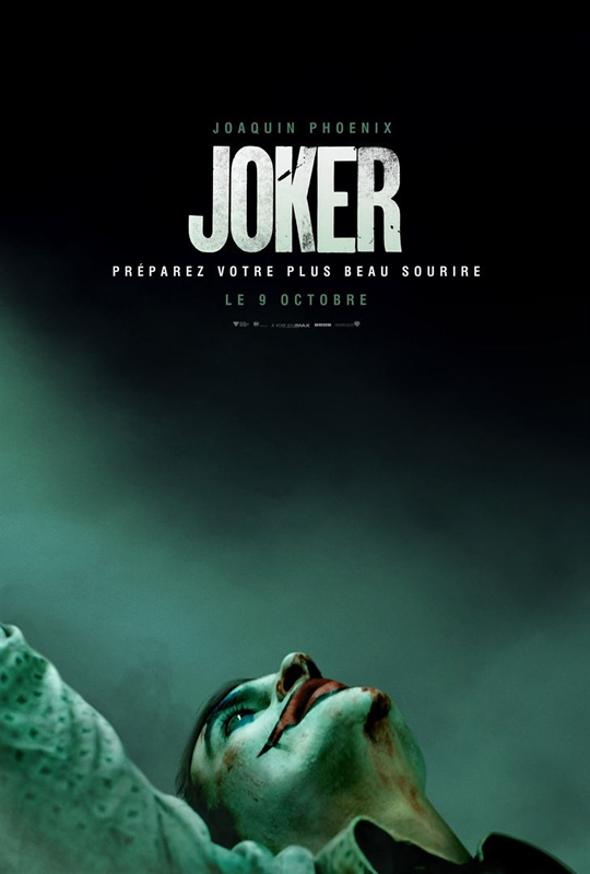 affiche JOKER Todd Phillips
