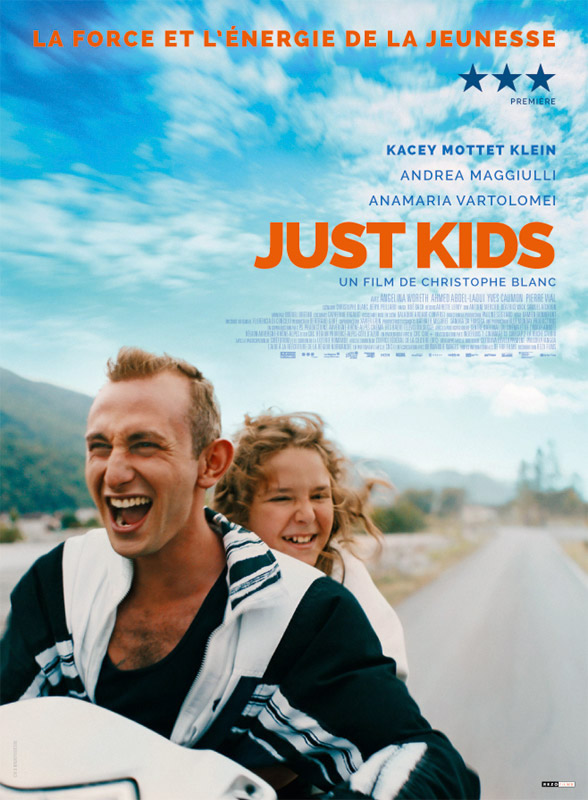 affiche JUST KIDS Christophe Blanc