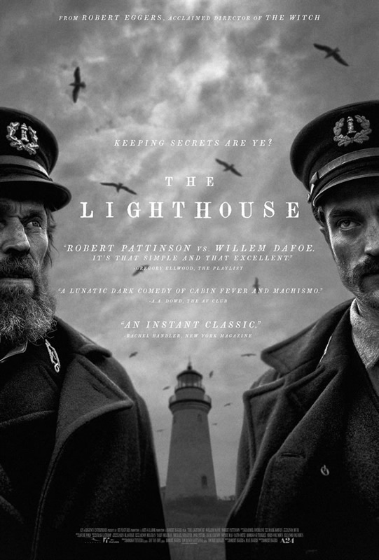 affiche THE LIGHTHOUSE Robert Eggers