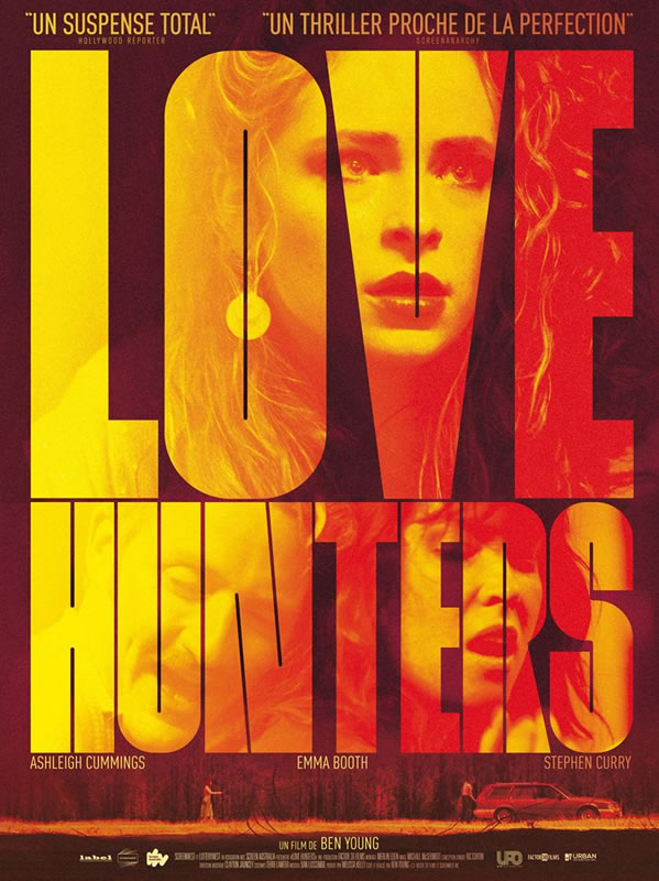 affiche LOVE HUNTERS Ben Young