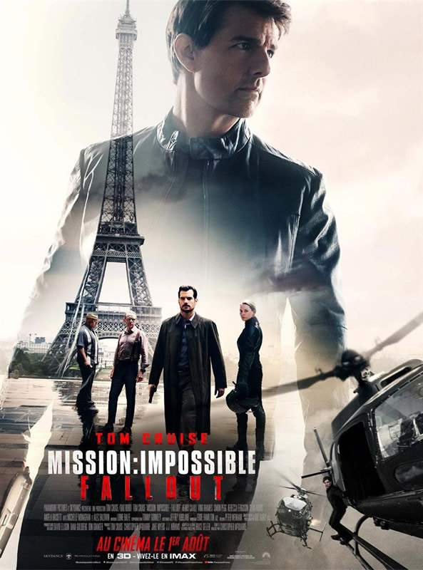 affiche MISSION : IMPOSSIBLE - FALLOUT Christopher McQuarrie