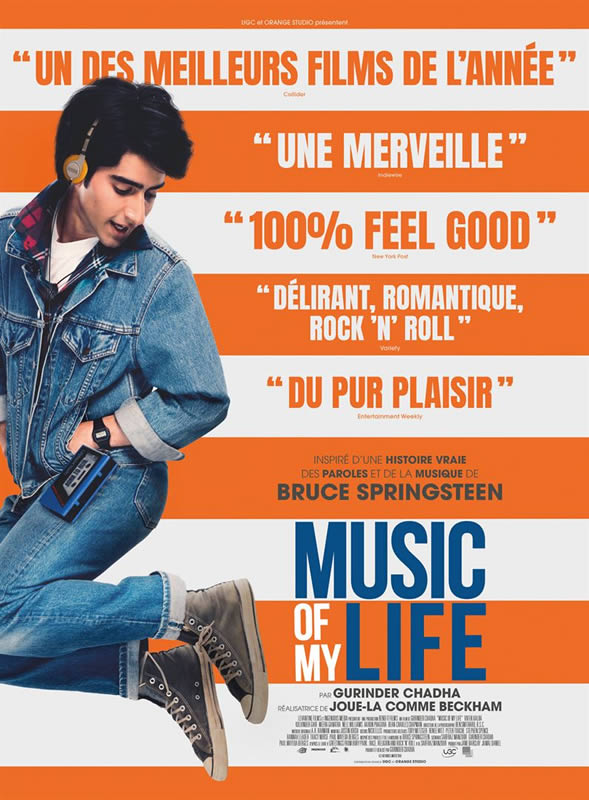 affiche MUSIC OF MY LIFE Gurinder Chadha