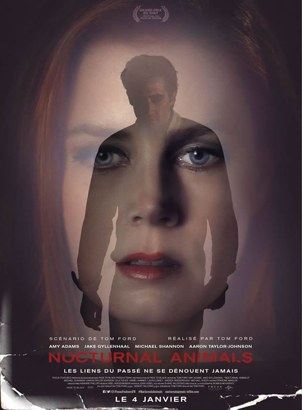 affiche NOCTURNAL ANIMALS Tom Ford