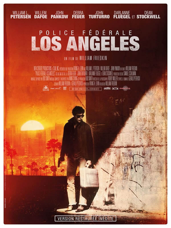 affiche POLICE FÉDÉRALE LOS ANGELES William Friedkin