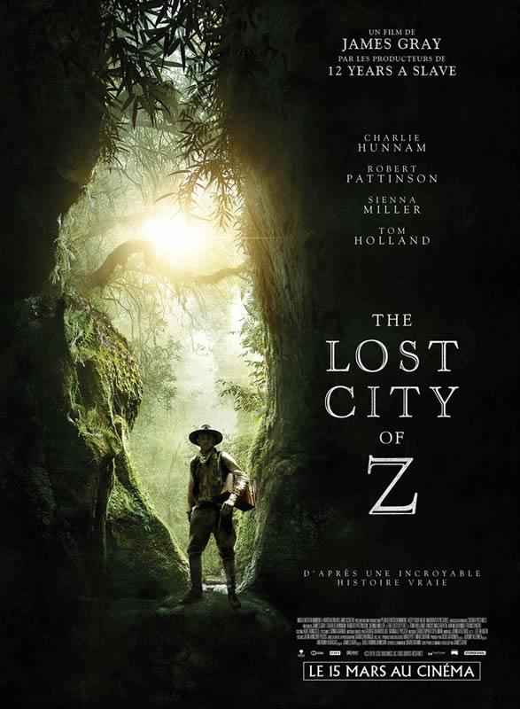 affiche THE LOST CITY OF Z James Gray