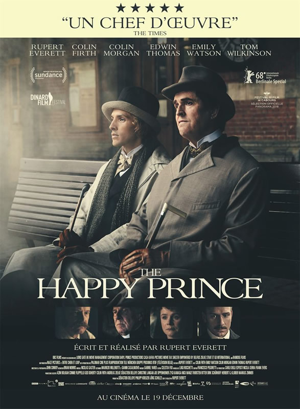 affiche THE HAPPY PRINCE Rupert Everett