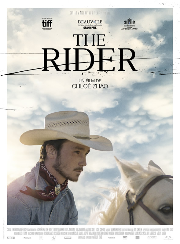 affiche THE RIDER Chloé Zhao