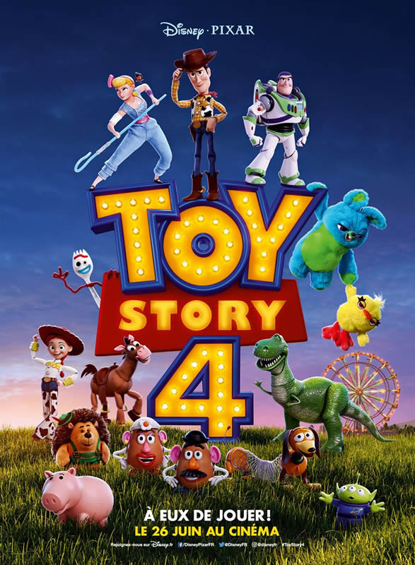 affiche TOY STORY 4 Josh Cooley