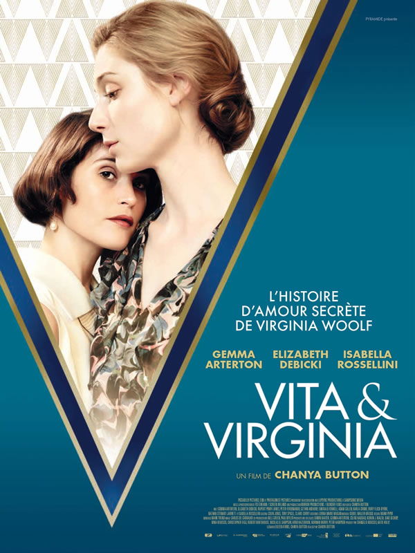 affiche VITA & VIRGINIA Chanya Button