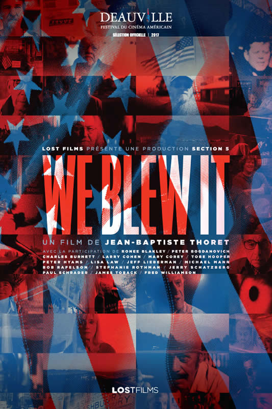 affiche WE BLEW IT Jean-Baptiste Thoret