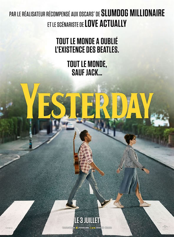 affiche YESTERDAY Danny Boyle
