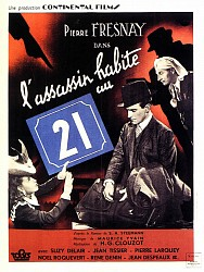 L'ASSASSIN HABITE AU 21 de Henri-Georges Clouzot