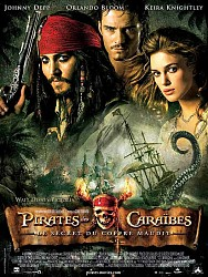 PIRATES DES CARAIBES LE SECRET DU COFFRE MAUDIT de Gore Verbinski